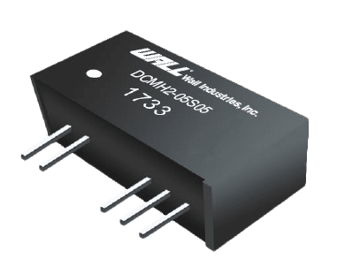 DCMH2 series of high isolation DC/DC converters