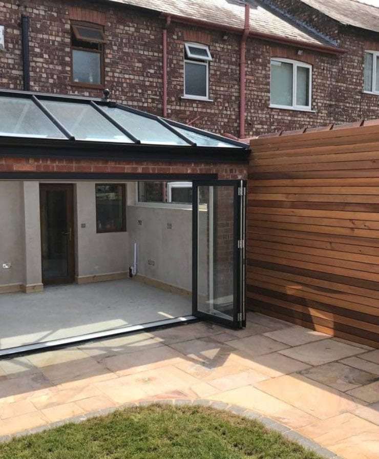 Open Bifold Door Exterior