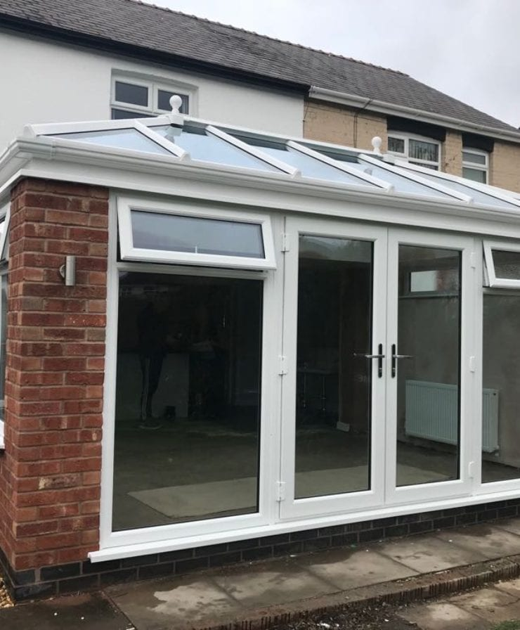 Orangery Extension in Ellesmere Port