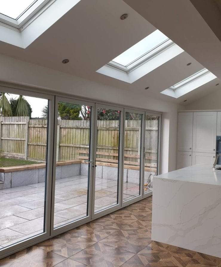 Kitchen Bifold Door Extension