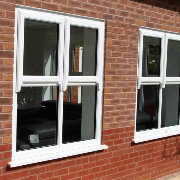 Modern PVC Windows