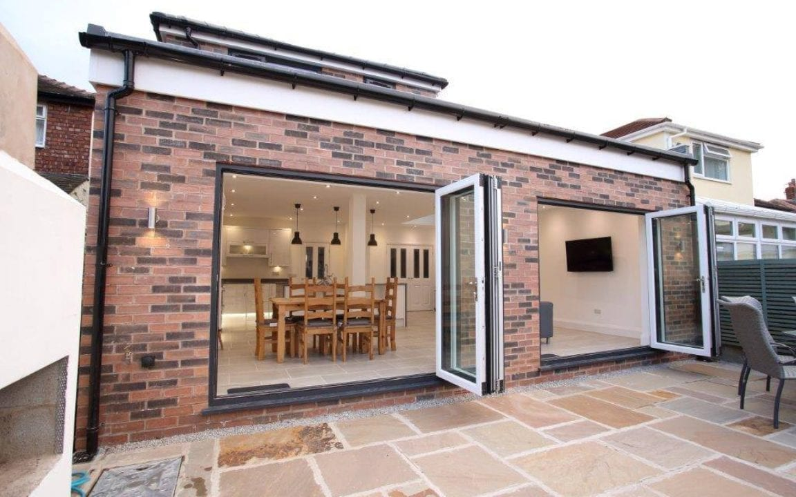 Bifold Doors Extension near you in West Derby