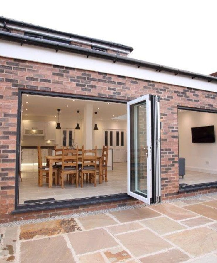 Bifold Doors Extensions in West Derby