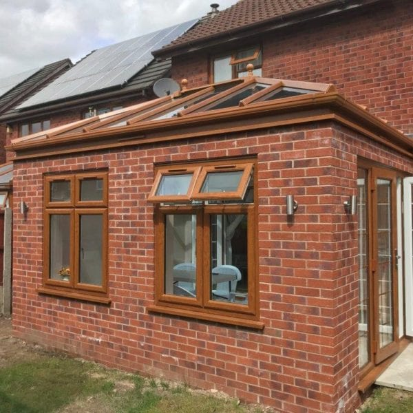 Classic Wood Effect Orangery in Chester