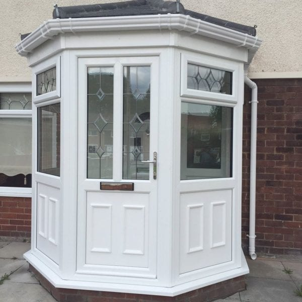 Hexagonal Double-Glazed Porch in Liverpool