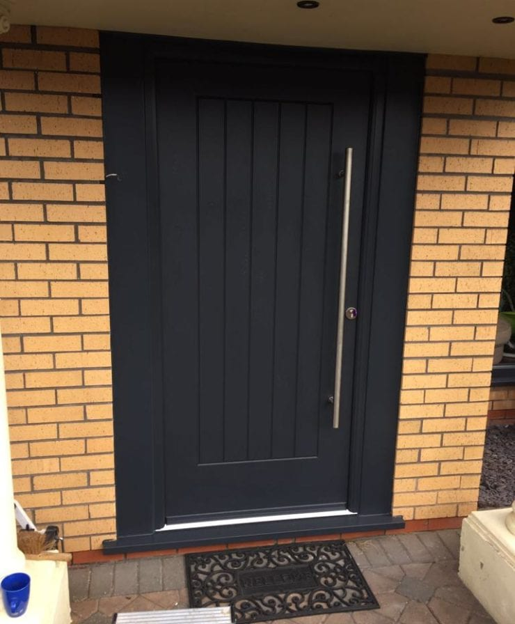 Composite door in Liverpool