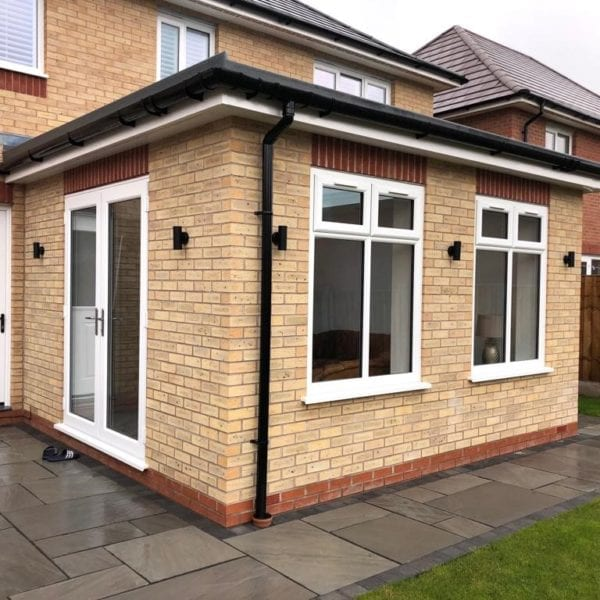 Small living room house extension in Liverpoool