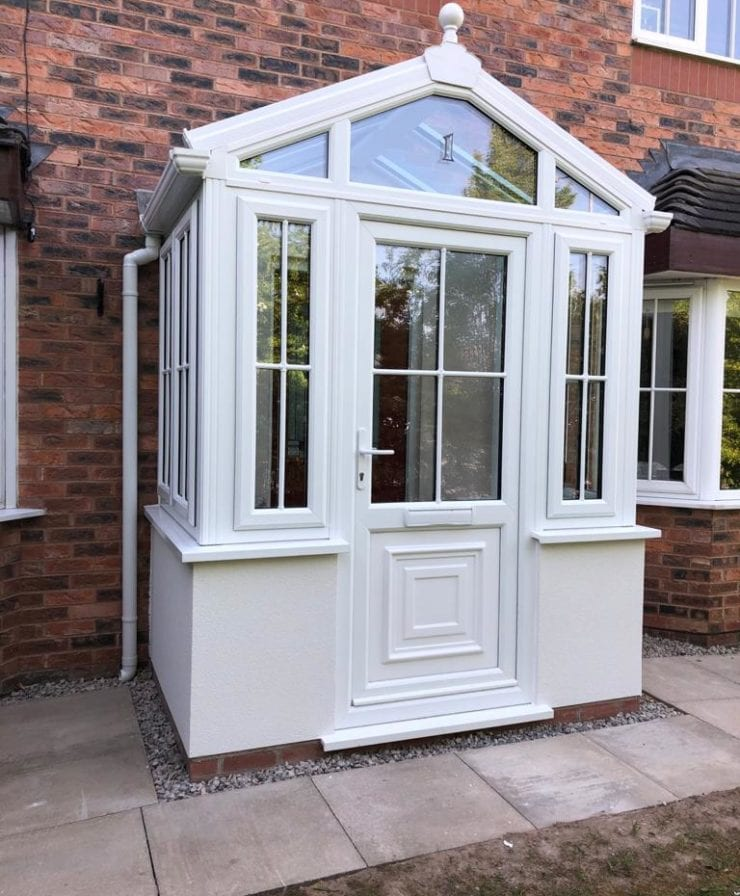 Double glazed porch in Liverpool