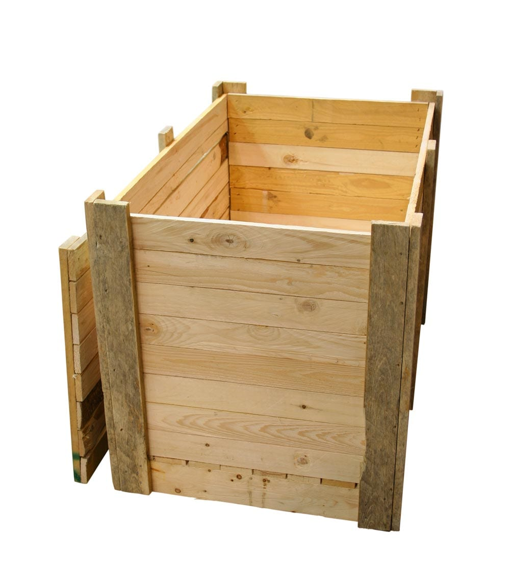 Wooden crates, boxes and pallets made to measure.