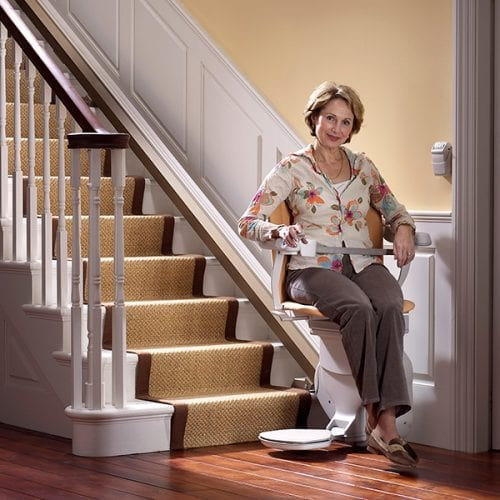 image of a stairlift