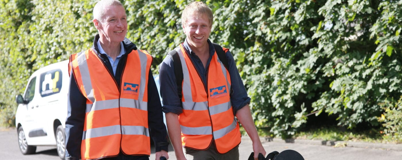 Surveyors for hire with equipment