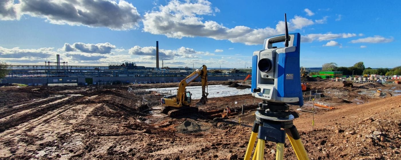 Spectra Total Station for hire