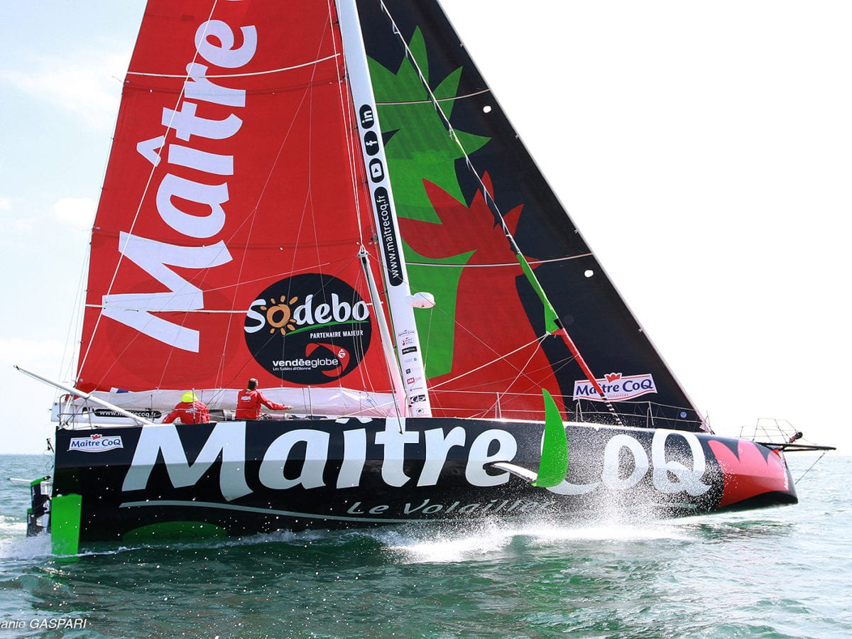 2020 Vendée Globe around-the-world yacht race