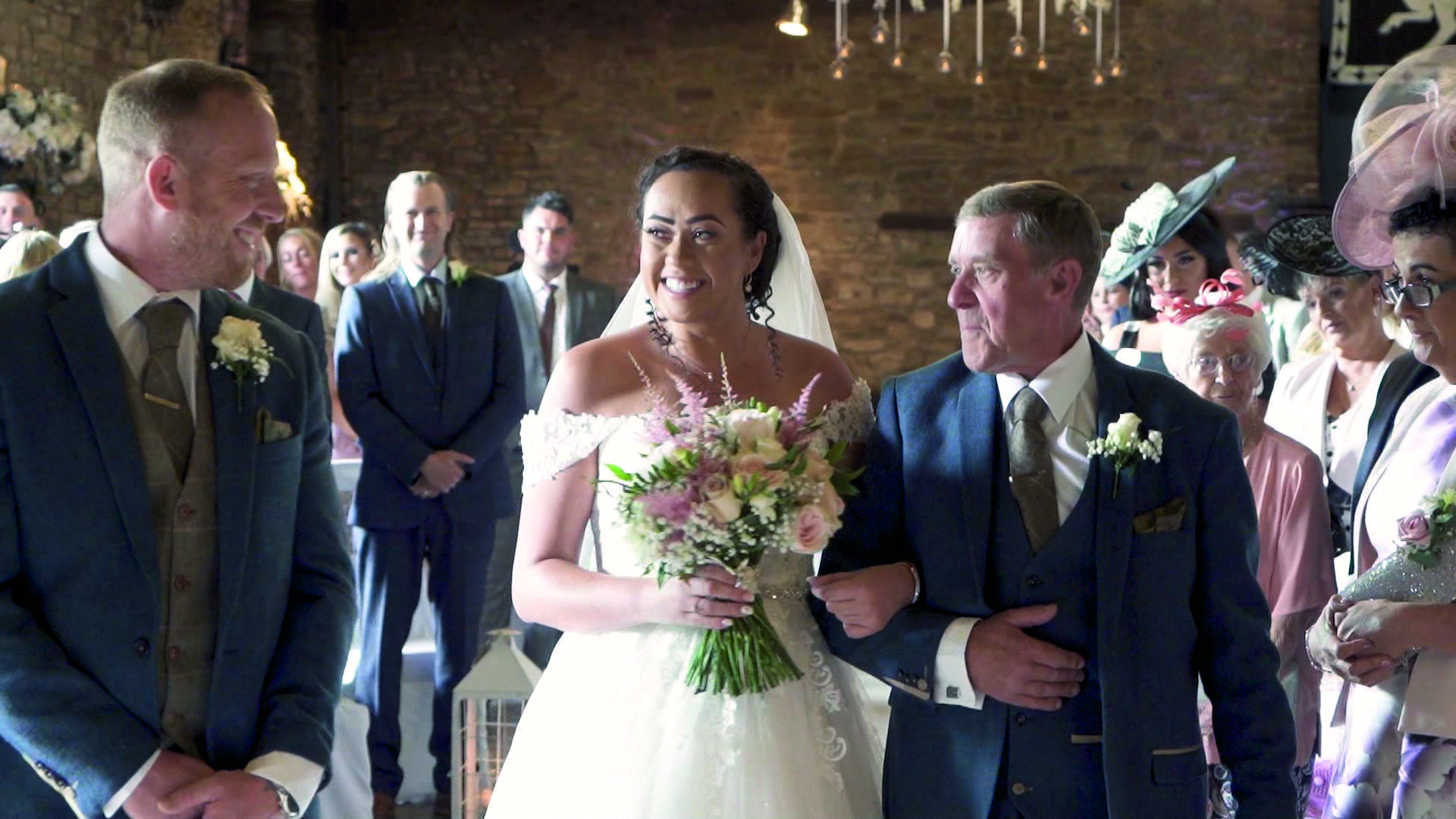 Example of Professional wedding videography