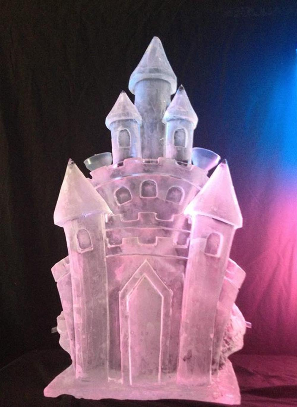 Castle double Luge Standard  - Vodka Luges and their Many Uses