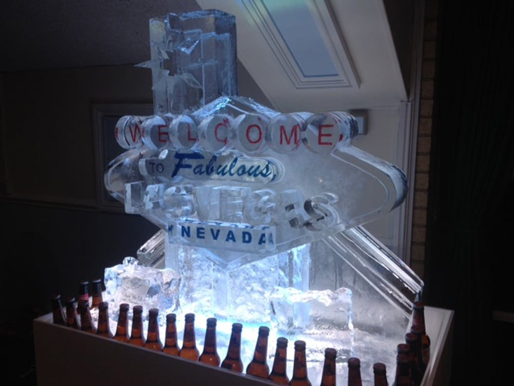 Las Vegas sign luge - Vodka Luges and their Many Uses