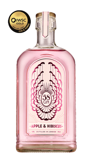 Apple and Hibiscus (Pink Gin)
