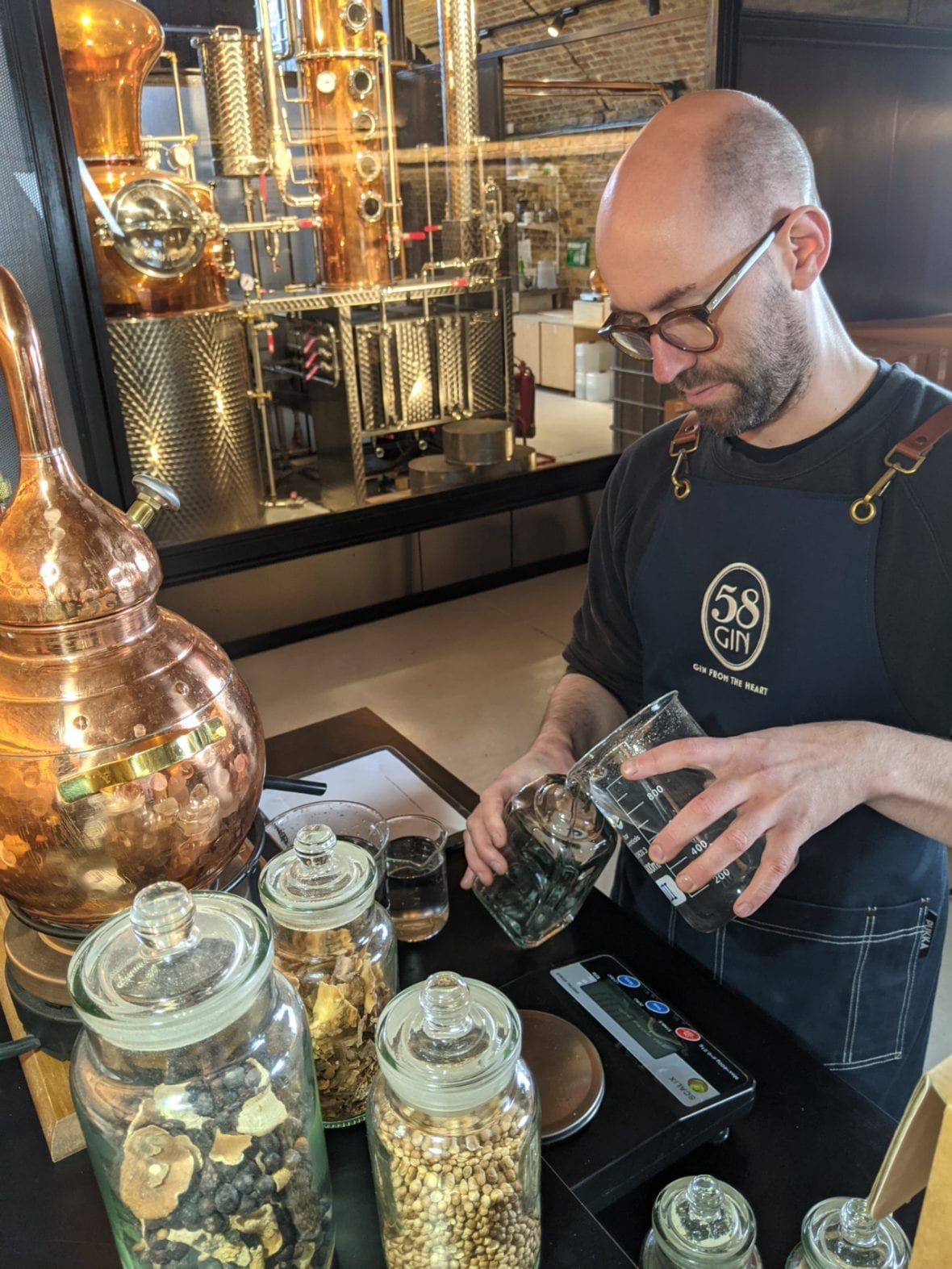 Creating Hand Crafted Gin
